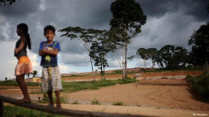 Belo Monte Staudamm Brasilien Amazonasgebiet Amazonien Baustelle