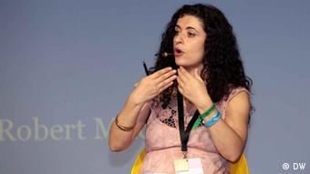 Syrian blogger Leila Nachawati