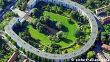 UNESCO Hufeisensiedlung im Berliner Bezirk Neukölln