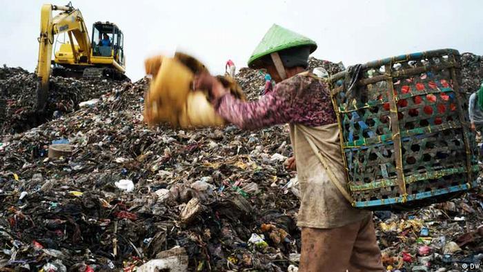 Müllmenschen von Bantar Gebang Indonesien