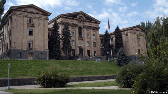 Armenien vor Wahlen Parlament