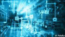 Symolbild Internet der Dinge 4. Vierte industrielle Revolution