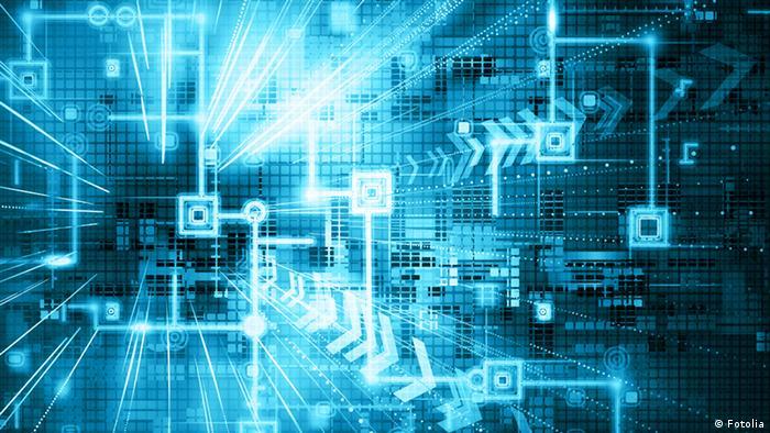 Symolbild Internet der Dinge 4. Vierte industrielle Revolution (Fotolia)