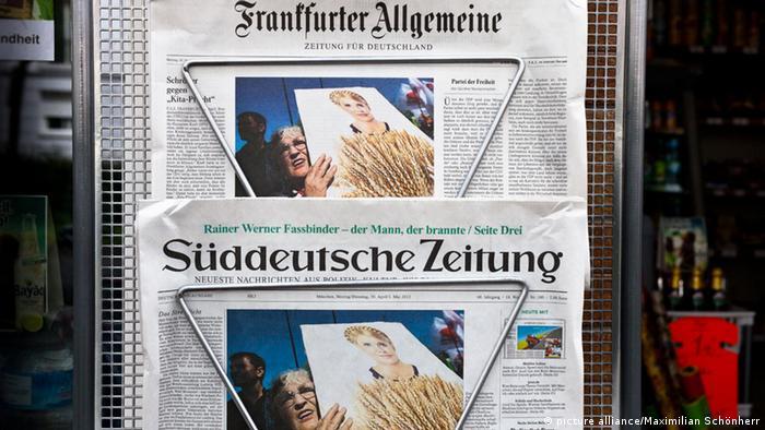 Німецька преса приділила увагу подіям в Україні, якої не було з 2004 року