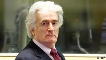 Niederlande Radovan Karadzic vor UN-Tribunal