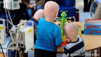 Дети в онкологической клинике