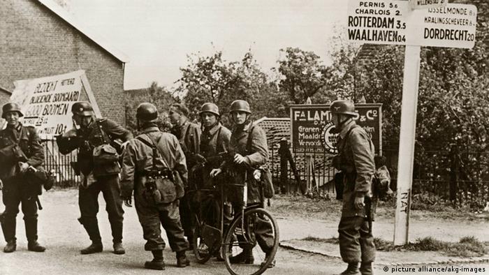 Deutsche Wehrmachtsoldaten in den Niederlanden