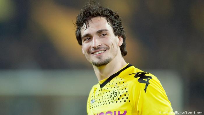 Fußball 1. Bundesliga BVB Dortmund Dortmunds Spieler Mats Hummels (picture alliance/Sven Simon)