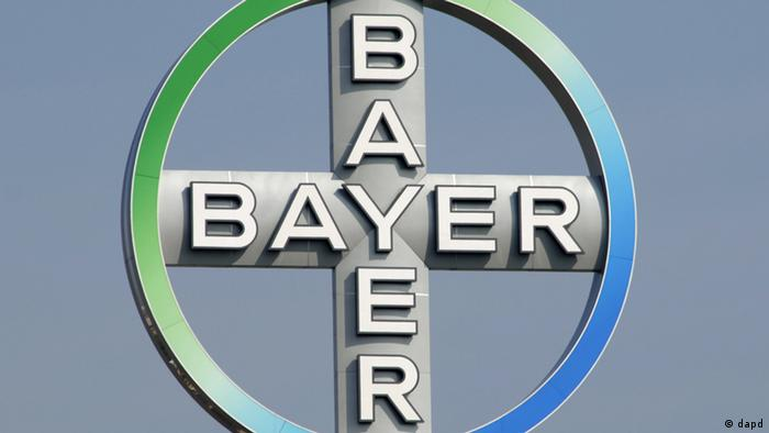 Logo of German pharmaceuticals company Bayer