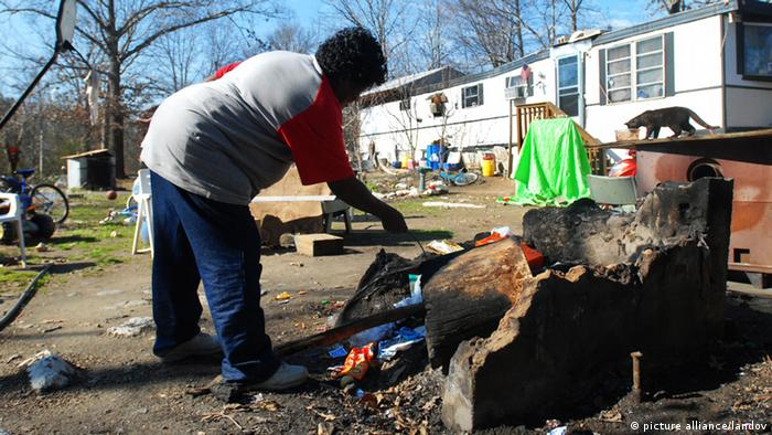 USA South Carolina Armut