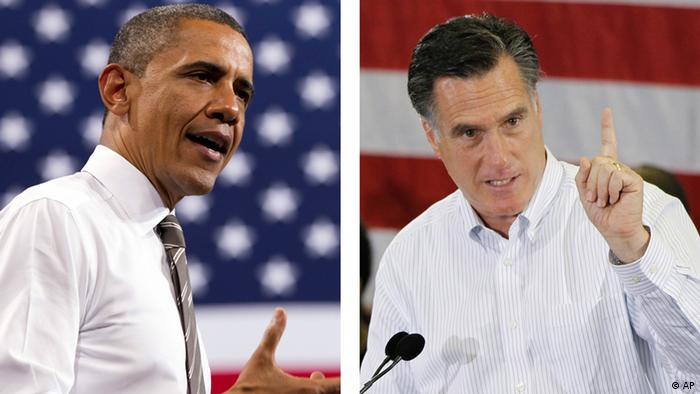 This combination of 2012 file photos shows U.S. President Barack Obama, left, and Republican presidential candidate Mitt Romney in Boulder, Colo. and Cape Canaveral, Fla. How unthinkable it was, not so long ago, that a presidential election would pit a candidate fathered by an African against another condemned as un-Christian. And yet, here it is: Barack Obama vs. Mitt Romney, an African-American and a white Mormon, representatives of two groups and that have endured oppression to carve out a place in the United States. How much progress has America made against bigotry? (Foto:Carolyn Kaster, Charles Dharapak/AP/dapd)