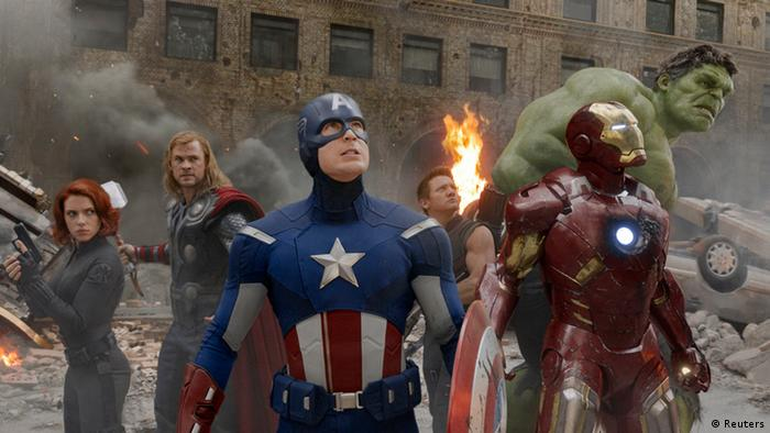Film still the Avengers (Reuters)