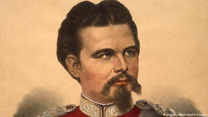 Painting of King Ludwig II of Bavaria (picture-alliance/akg-images)