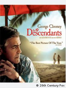 DVD-Cover des Films THE DESCENDANTS - FAMILIE UND ANDERE ANGELEGENHEITEN (Foto: Verleih)