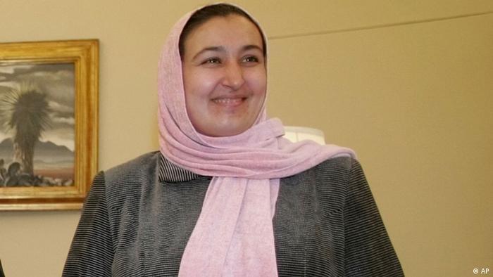 Afghan women's activist Dr. Massouda Jalal