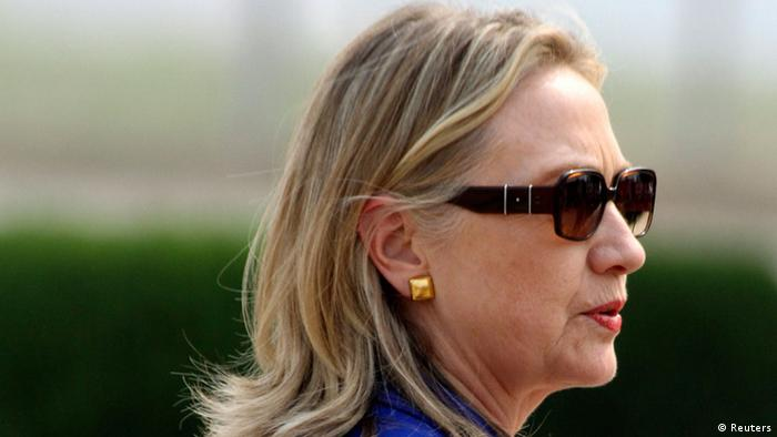 USA Hilary Clinton in Indien
