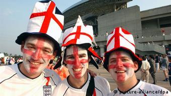 Fußball-WM 2002 Englische Fans