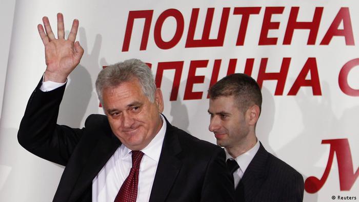 Serbien Wahl Tomislav Nikolic