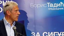 Serbien Wahl Boris Tadic
