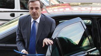 Chairman of the Greek New Democracy party, Antonis Samaras