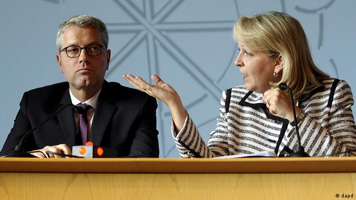 Hannelore Kraft and Norbert Röttgen