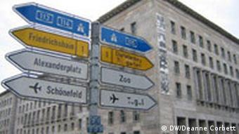 Finanzamt in Berlin
