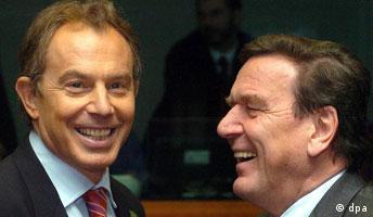Blair und Schröder