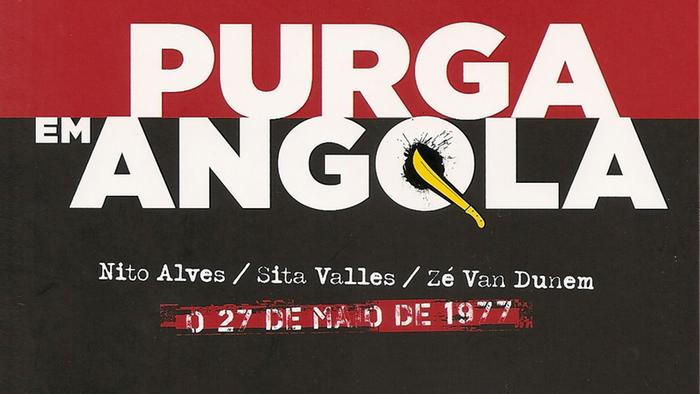 Capa Purga em Angola  de Dalila Mateus e Álvaro Mateus