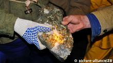 Symbolbild Goldmine Gold Ressourcen