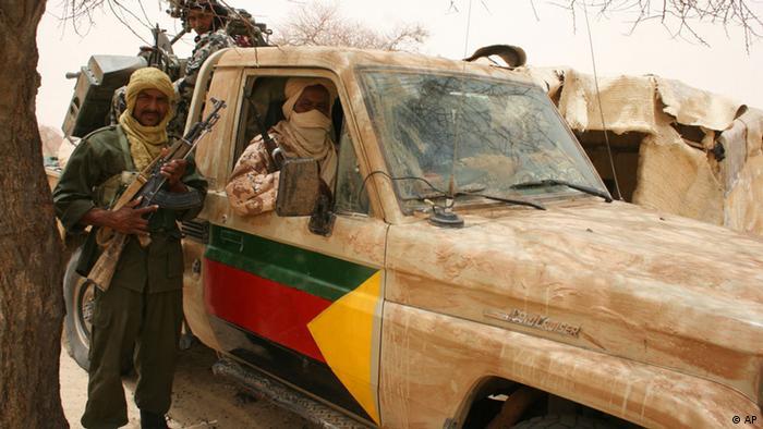 Die Separatisten der Nationalen Bewegung zur Befreiung von Azawad. Foto:AP/dapd