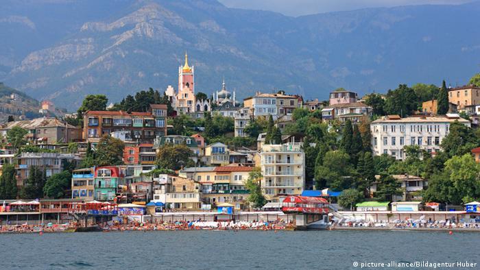 Побережье Черного моря, Крым