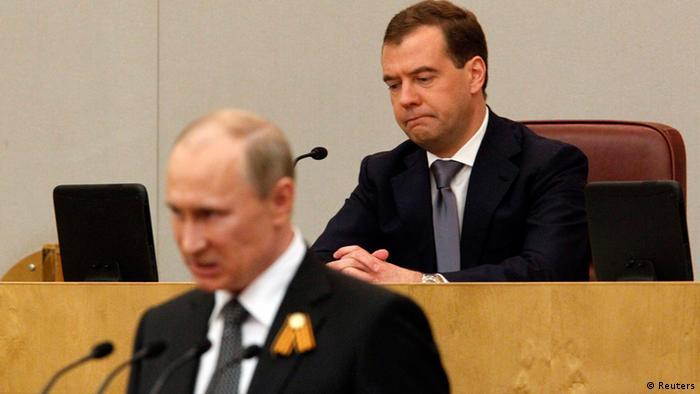 La Rusia de Putin.