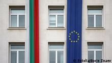 Bulgarien EU Fahnen Flaggen