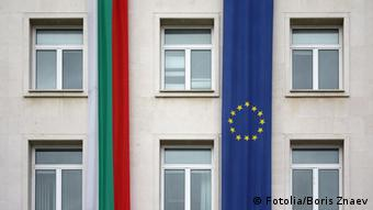 The European Union and Bulgaria flags on wall flags; european; union; europe; Bulgaria; Sofia; stars; community; blue; unity; symbols; waving; wind; euro; government; national; landmark; banner; politics; color; exterior; building; backgrounds; global; travel; glass; window; place; federation; patriotism; cooperation; nations; authority; international; textile; architecture; eu; outdoors; tourism; pennant