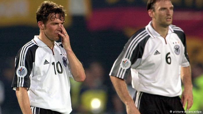 Europameisterschaft 2000 Deutschland Matthäus (picture-alliance/dpa)