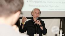 Anja C. Wagner, experta en educación abierta.