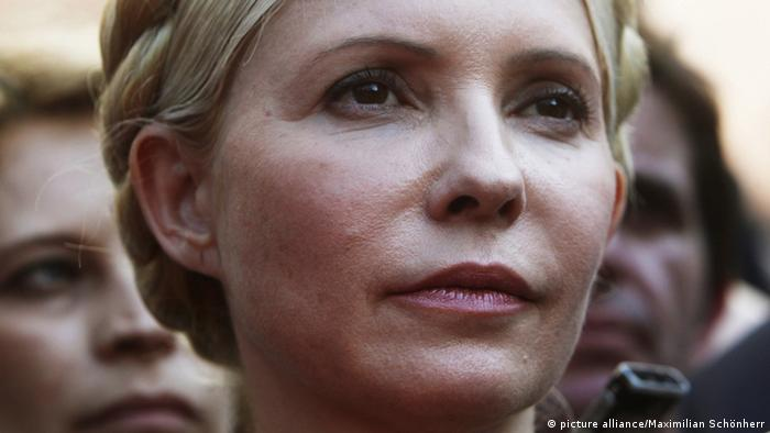 epa03210827 (FILE) A file photograph dated 24 May 2011 of former Ukrainian prime minister and opposition leader Yulia Tymoshenko after leaving the prosecutor's office in Kiev, Ukraine. Media reports state on 08 May 2012 that Yulia Tymoshenko daughter has said that her mother, Yulia Tymoshenko, has agreed to end her hunger strike. Yulia Tymoshenko former Prime Minister of Ukraine was sentenced to seven years in prison after she was found guilty of abuse of office when brokering the 2009 gas deal with Russia. Tymoshenko is currently being held in prison at Kharkiv and has been on hunger strike since 20 April 2012. EPA/SERGEY DOLZHENKO