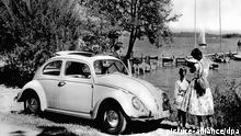 VW Beetle by a lake (picture-alliance/dpa)
