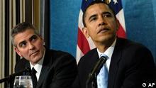 Barack Obama und George Clooney
