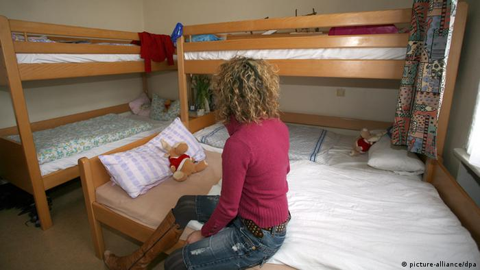 im frauenhaus endlich ruhig schlafen deutschland dw. Black Bedroom Furniture Sets. Home Design Ideas