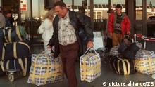 Ankunft Aussiedler Entwicklung der Migration nach Deutschland