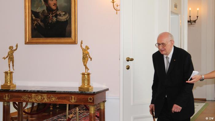 Empfang Bartoszewski bei Gauck