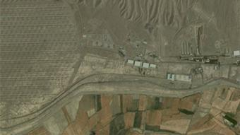 Satellite image of Iran's Parchin nuclear facility