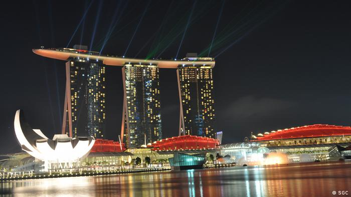 Singapor Hotel Marina Bay Sands. (Copyright: Singaporean-German Chamber of Industry and Commerce (SGC)