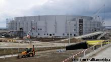 Sotschi 2014 - Bauarbeiten