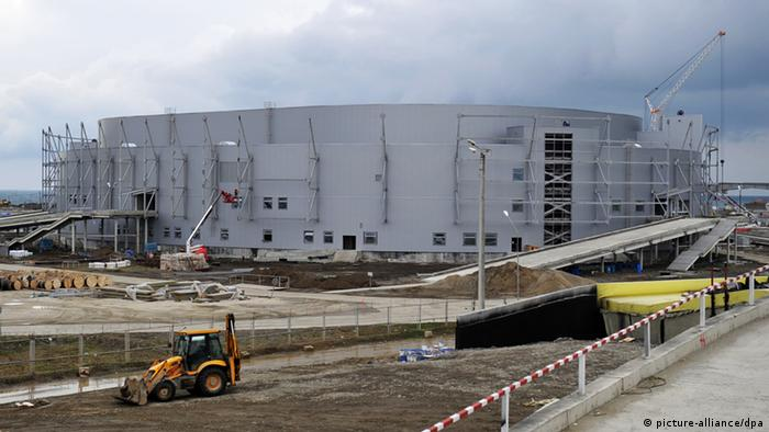 Ice Arena 'Shaiba' under construction in Sochi