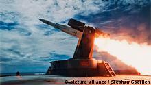 Luftabwehrrakete SM1 Standard Missile Rakete