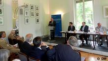 На дискуссии в Германском обществе внешней политики