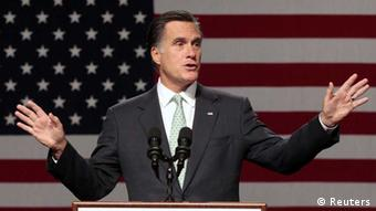 Mitt Romney in Lansing, Michigan Foto: REUTERS/Rebecca Cook (UNITED STATES - Tags: POLITICS)