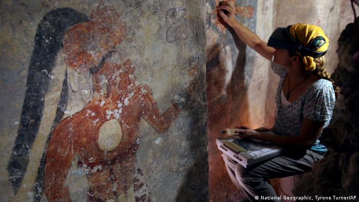Guatemala Maya Haus Kalender Xultún